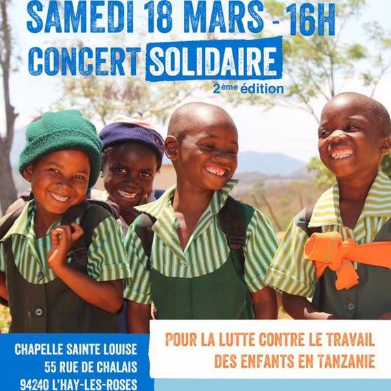 Concert Solidaire (2ème édition) au profit de Plan International France