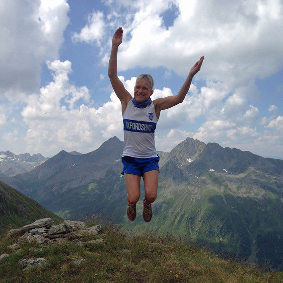 Running Le Grand Raid des Pyrénées for the Rights of Girls all over the World